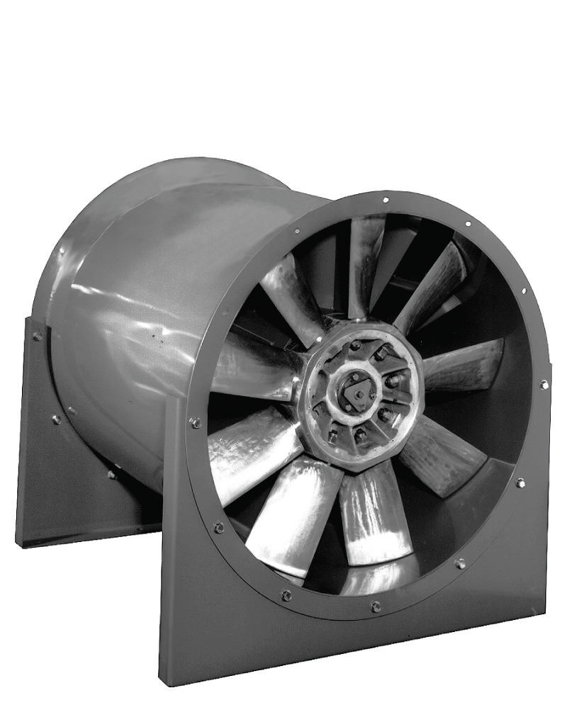 Adjustable Pitch Vane Axial Direct Drive Axial Fan