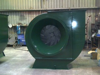MA series fans for grain aeration