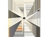 ME Series 6 vane radial impeller 2 copy