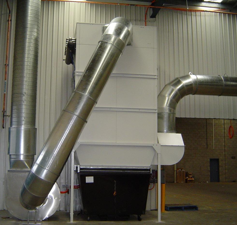 industrial dust extraction fan